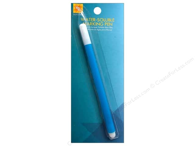 EZ Quilting Water Soluble Marking Pen 1 pc. Blue