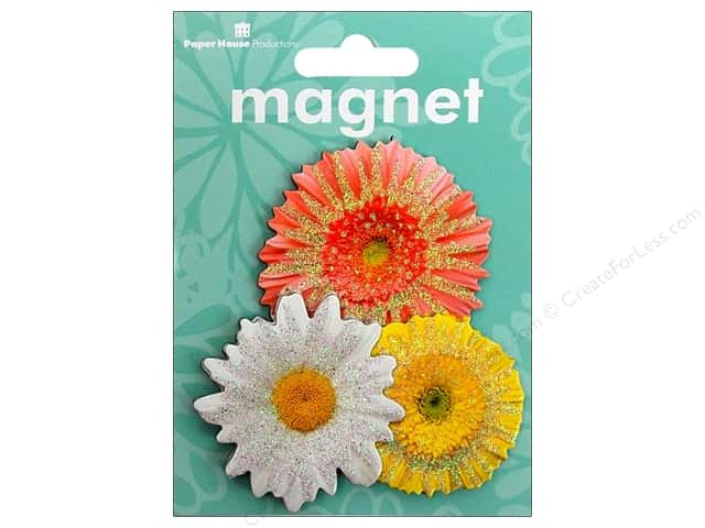 Paper House Magnet 3D Daisies