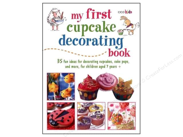 Cico My First Cupcake Decorating Book by Susan Akass