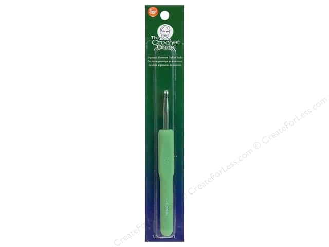 The Crochet Dude Crochet Hook Aluminum Size J (6 mm)