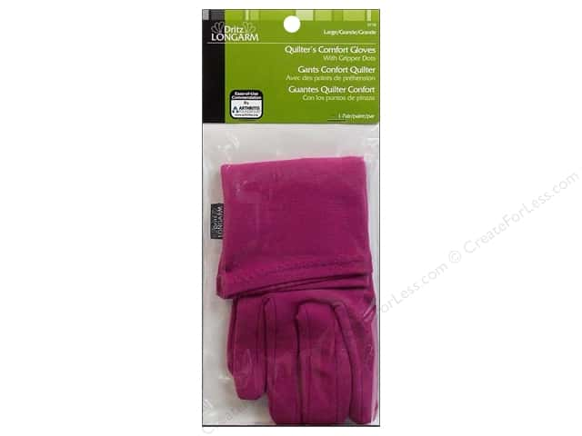 Quilter's Comfort Gloves by Dritz Longarm Size Large