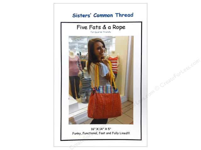 Sisters' Common Thread Five Fats & A Rope Pattern