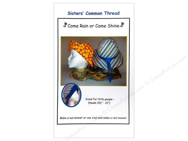 Sisters' Common Thread Come Rain Or Come Shine Pattern