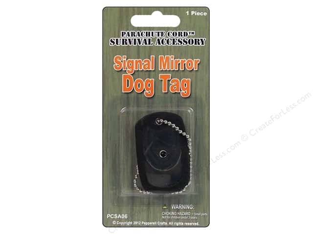 Pepperell Signal Mirror Dog Tag