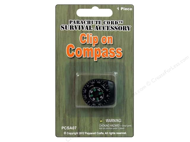 Pepperell Clip on Compass