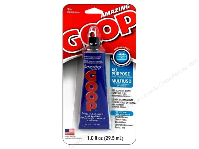 Eclectic Adhesive Amazing Goop Carded 1oz