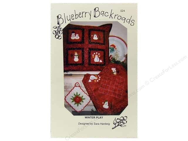 Blueberry Backroads Winter Play Pattern