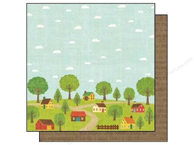 Best Creation 12 x 12 in. Paper Home Memories Collection Home Memories (25 sheets)