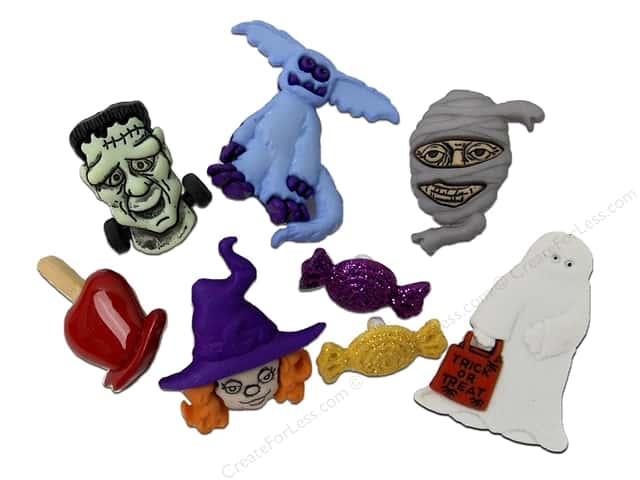Jesse James Dress It Up Embellishments Halloween Collection Happy Haunting