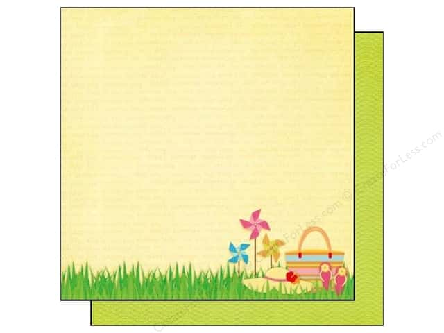 Best Creation 12 x 12 in. Paper Sunny Days Collection Summer Time (25 sheets)