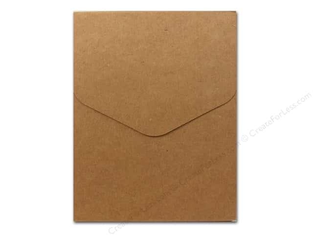 Sierra Pacific Crafts Office Notepad 80 Sheet with Magnet Snap Kraft (2 pieces)