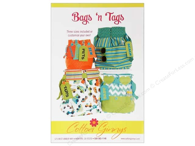 Cotton Ginnys Bags N Tags Pattern