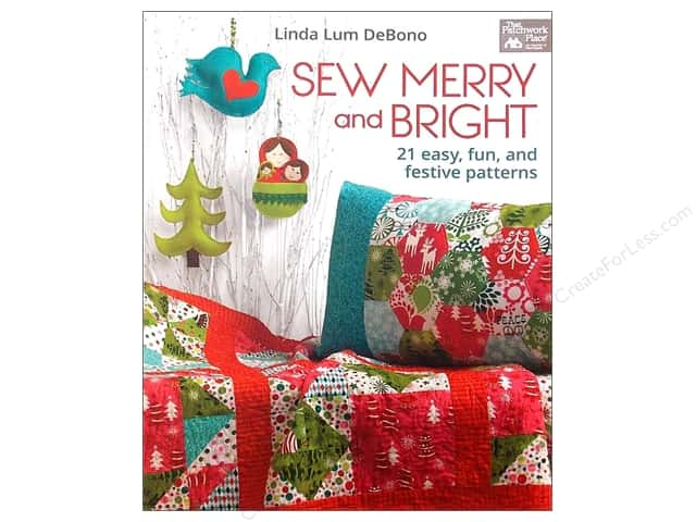 That Patchwork Place Sew Merry and Bright Book by Linda Lum DeBono