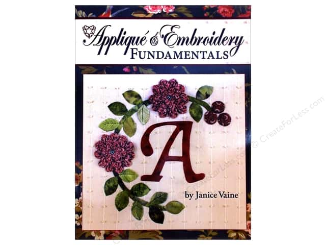 Landauer Applique & Embroidery Book