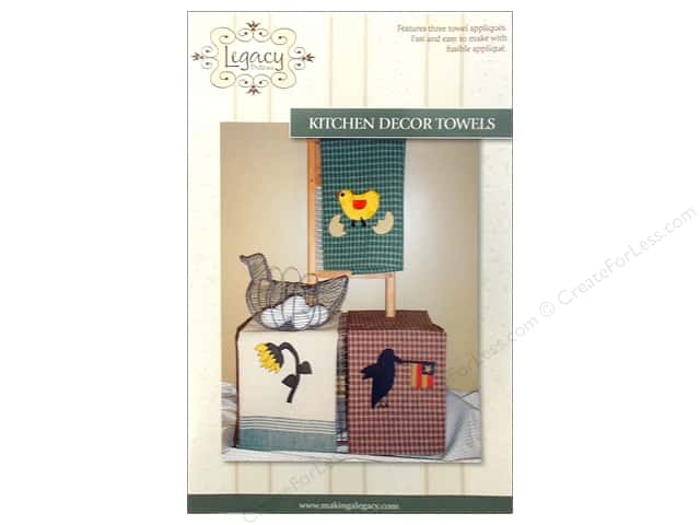 Legacy Kitchen Decor Towels Pattern