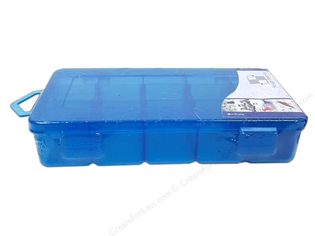 "Storage Solutions Box 15 Compartment 6""x 3.5"" Blue"