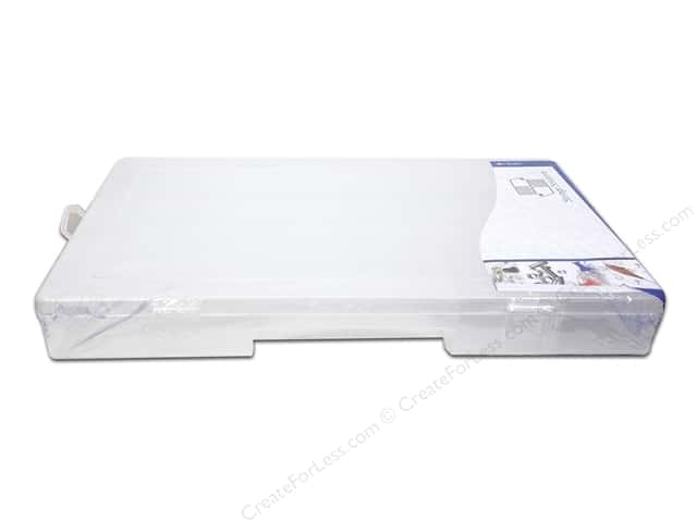 """Storage Solutions Box 24 Compartment 14""""x 8.5"""" Clear"""