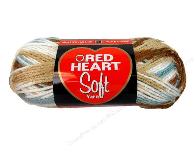 Red Heart Soft Yarn #9934 Icy Pond 204 yd.