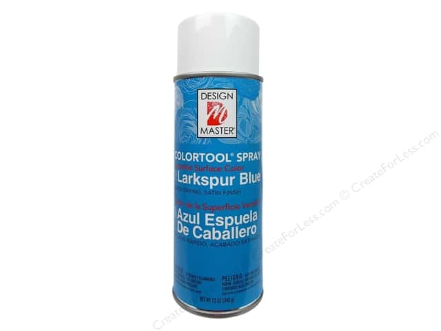 Design Master Colortool Spray Paint #707 Larkspur 12 oz.