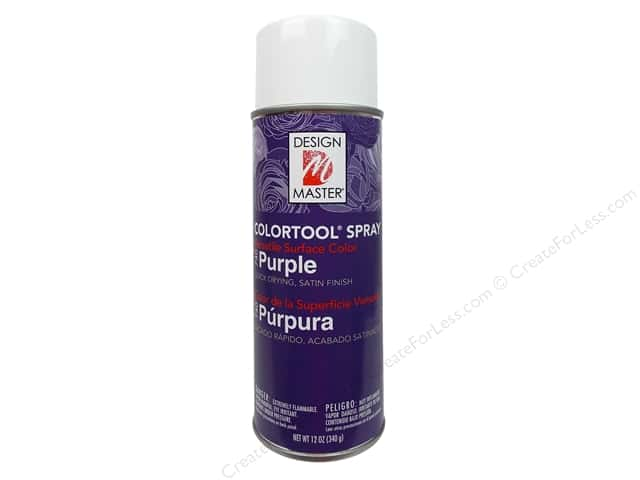 Design Master Colortool Spray Paint #740 Purple 12 oz.