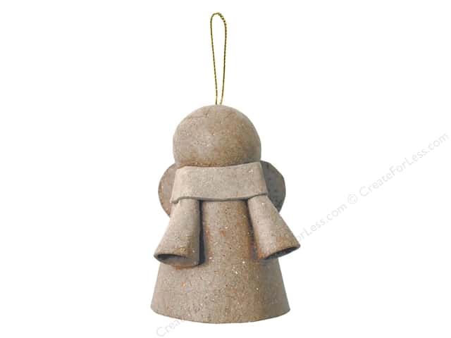 Paper Mache Angel Ornament by Craft Pedlars 3 in. (3 pieces)