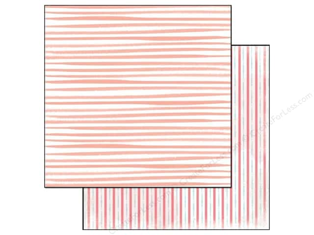 Glitz Design 12 x 12 in. Paper Hello Friend Stripe (25 sheets)