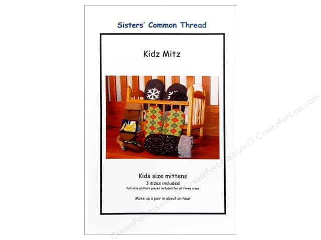 Sisters' Common Thread Kidz Mitz Pattern