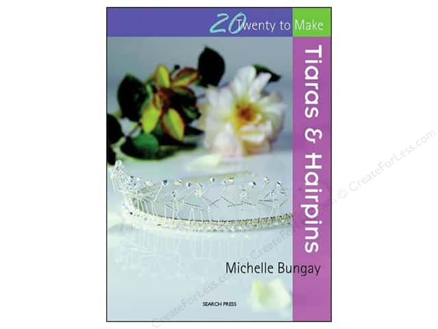 Search Press Twenty To Make Tiaras & Hairpins Book