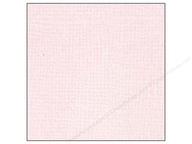 Doodlebug 12 x 12 in. Paper Textured Cotton Candy (25 sheets)