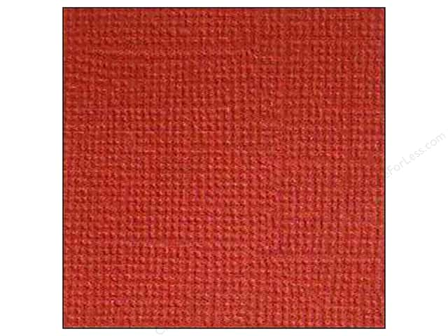 Doodlebug 12 x 12 in. Paper Textured Ruby (25 sheets)