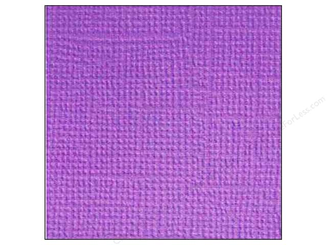 Doodlebug 12 x 12 in. Paper Textured Lilac (25 sheets)