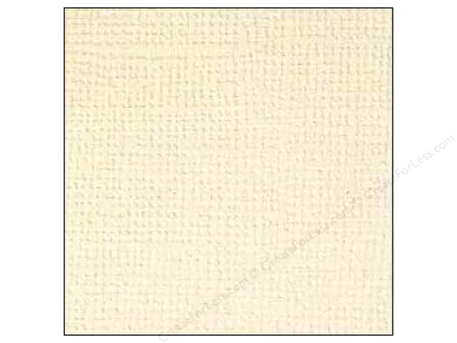 Doodlebug 12 x 12 in. Paper Textured Almond (25 sheets)