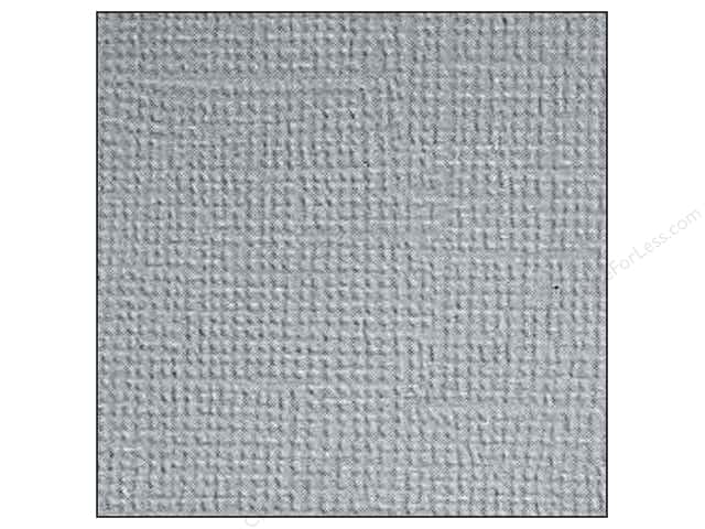 Doodlebug Paper 12 x 12 in. Textured Stone Gray (25 sheets)