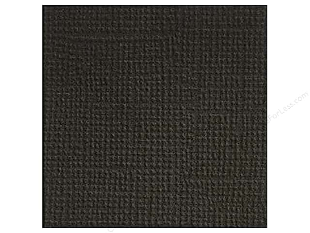 Doodlebug 12 x 12 in. Paper Textured Beetle Black (25 sheets)