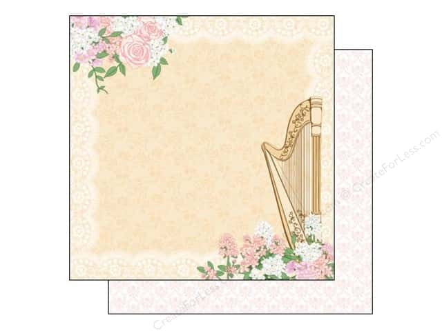 Best Creation 12 x 12 in. Paper Blossoming Time Collection Melody (25 sheets)