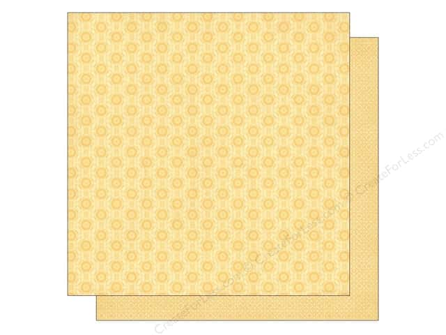 Best Creation 12 x 12 in. Paper Sew Pretty Collection Buttons and Scissors (25 sheets)