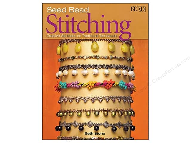 Kalmbach Publishing Co. Seed Bead Stitching Book