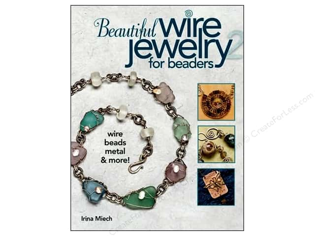 Kalmbach Publishing Co. Beautiful Wire Jewelry For Beaders 2 Book