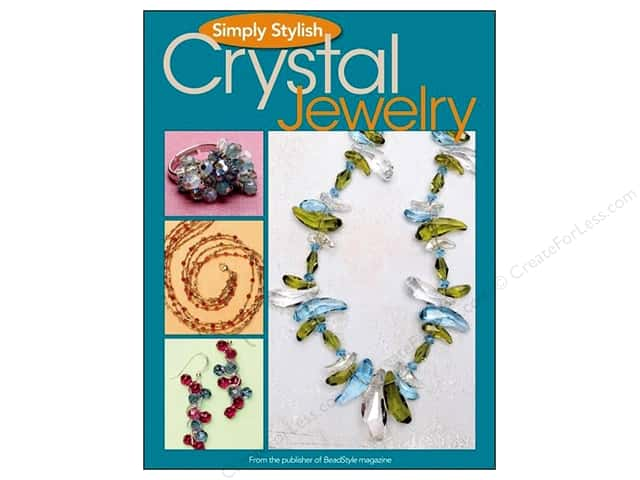 Kalmbach Simply Stylish Crystal Jewelry Book