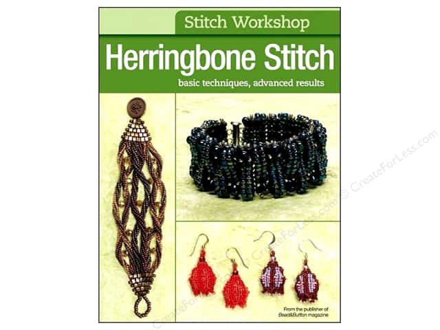 Kalmbach Publishing Co. Stitch Workshop Herringbone Stitch Book