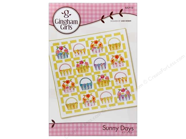 Gingham Girls Sunny Days Pattern