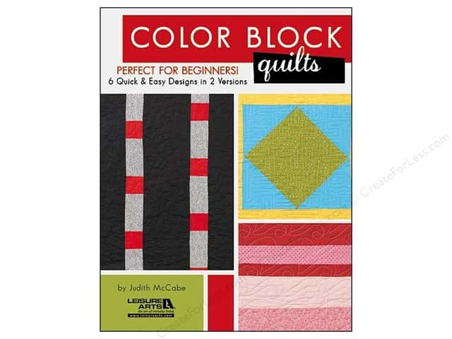 Leisure Arts Color Block Quilts Book