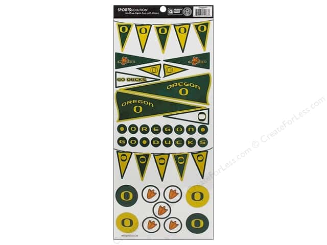 Sports Solution Sticker Pennant Oregon