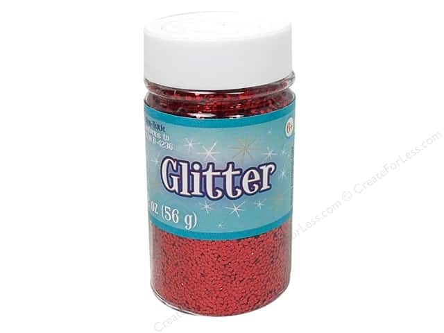 Sulyn Glitter 2 oz. Red
