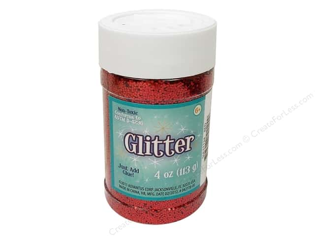 Sulyn Glitter 4 oz. Red
