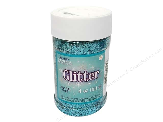 Sulyn Glitter 4 oz. Light Blue