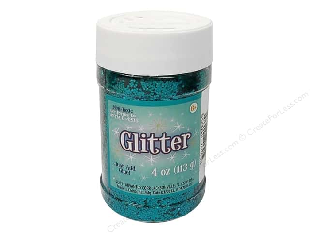 Sulyn Glitter 4 oz.Turquoise
