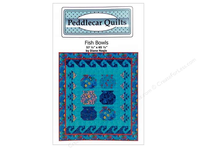 Peddlecar Quilts Fish Bowls Pattern