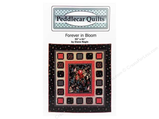 Peddlecar Quilts Forever In Bloom Pattern