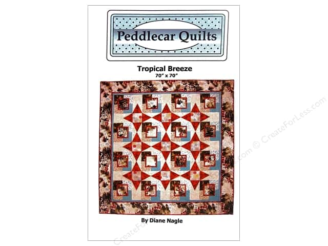 Peddlecar Quilts Tropical Breeze Pattern